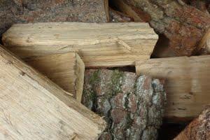 Part-Seasoned Logs